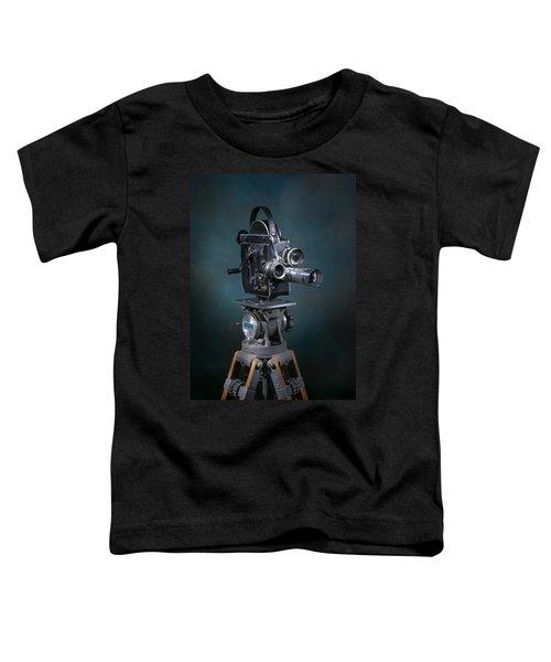 Focus In Blue Toddler T-Shirt