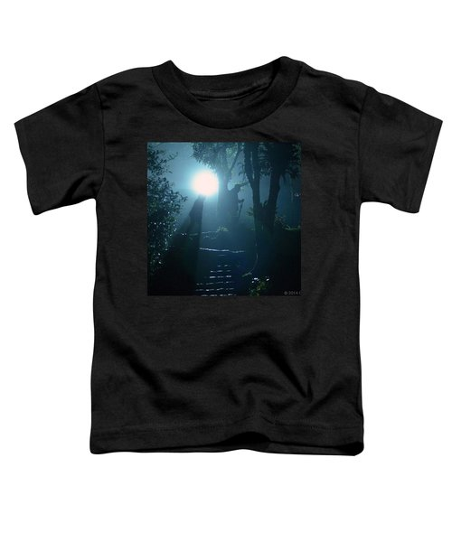 Foggy Night At The Old Railway Village Toddler T-Shirt