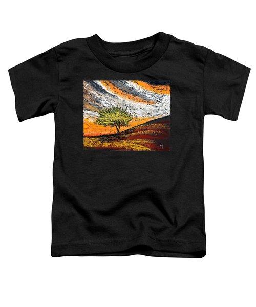 Follow The Clouds Toddler T-Shirt