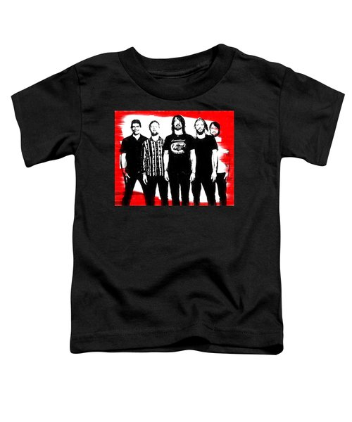 Foo Fighters Graphic Tribute Toddler T-Shirt
