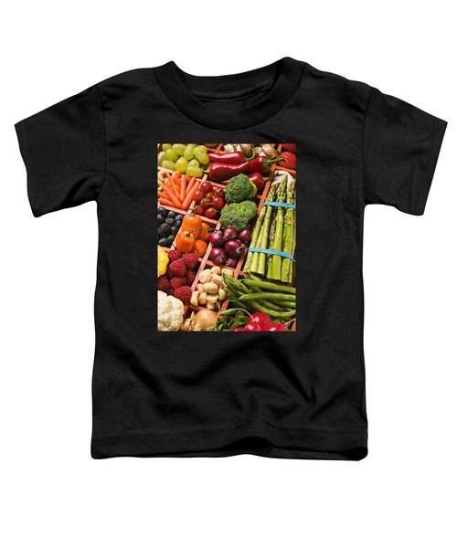 Food Compartments  Toddler T-Shirt