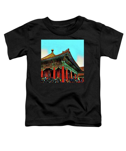 Forbidden City - Beijing China Toddler T-Shirt