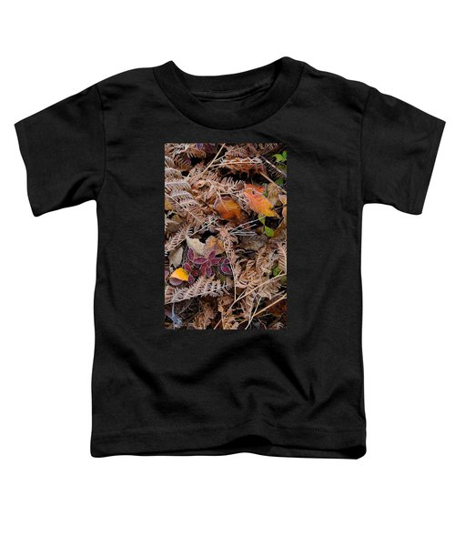 Toddler T-Shirt featuring the photograph Forest Ferns by Doug Gibbons