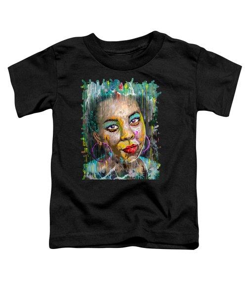 Forget-me-not Eyes Toddler T-Shirt