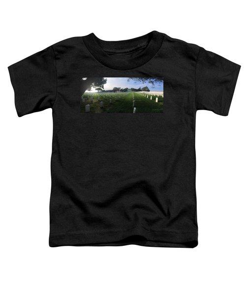 Fort Rosecrans National Cemetery Toddler T-Shirt by Lynn Geoffroy