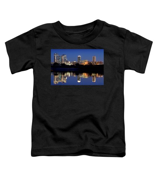 Fort Worth Reflection 41916 Toddler T-Shirt
