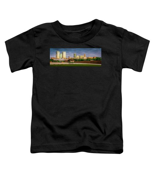 Fortworth Texas Cityscape Toddler T-Shirt