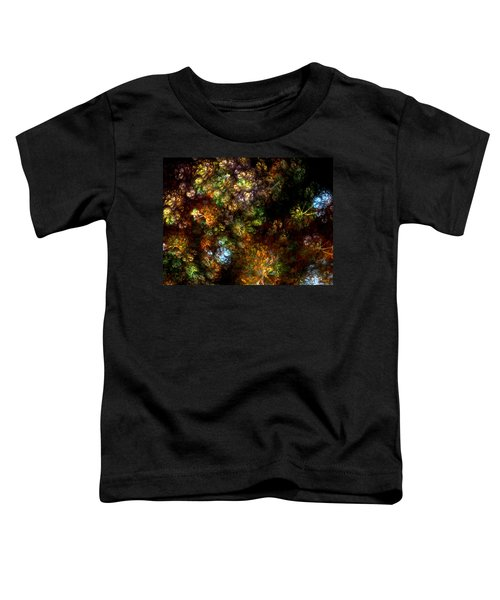 Fractal Flowers Toddler T-Shirt