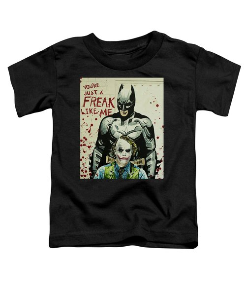 Freak Like Me Toddler T-Shirt by James Holko