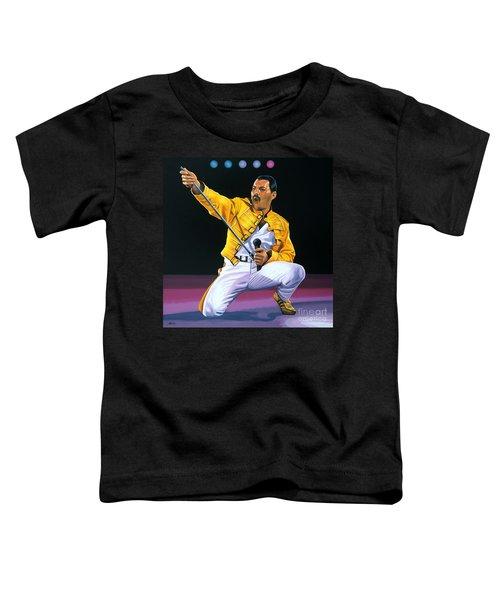 Freddie Mercury Live Toddler T-Shirt