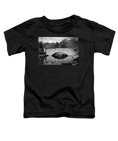 Freedom Park Bridge In Black And White Toddler T-Shirt