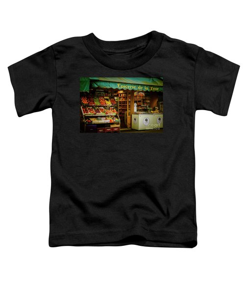 French Groceries Toddler T-Shirt