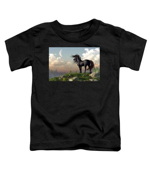 Friesian Moon Toddler T-Shirt