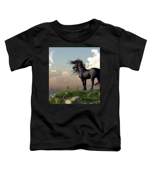 Friesian Moon Toddler T-Shirt