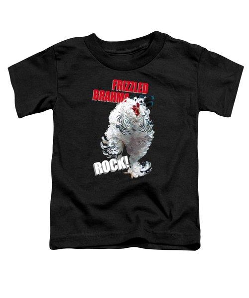 Frizzled Brahma T-shirt Print Toddler T-Shirt