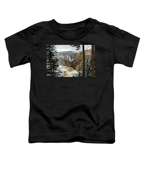 Frosted Canyon Toddler T-Shirt