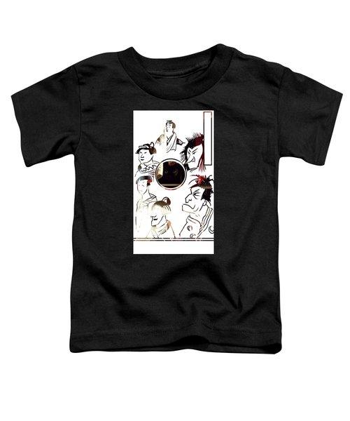 Full Circle Eyes Toddler T-Shirt