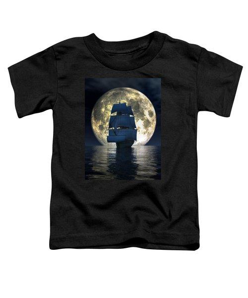 Full Moon Pirates Toddler T-Shirt