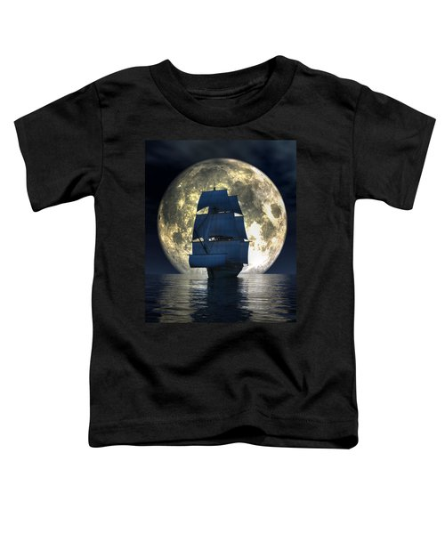 Full Moon Pirates Toddler T-Shirt