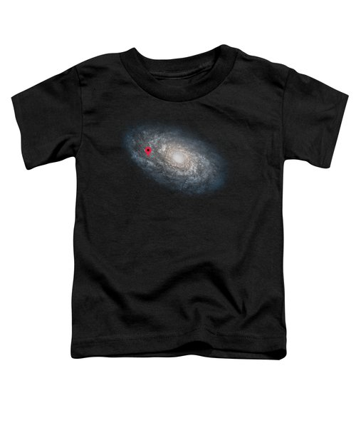 Funny Astronomy Universe  Nerd Geek Humor Toddler T-Shirt