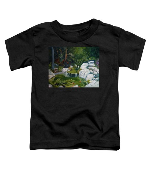 Garden Retreat Toddler T-Shirt