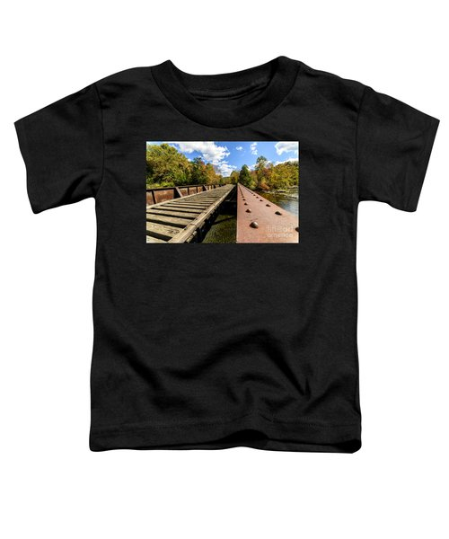 Gauley River Railroad Trestle Toddler T-Shirt