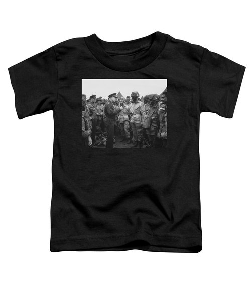 General Eisenhower On D-day  Toddler T-Shirt