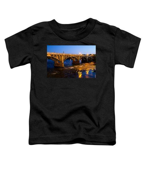 Gervais Street Bridge At Twilight Toddler T-Shirt