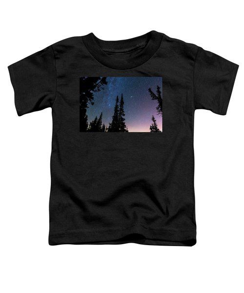 Toddler T-Shirt featuring the photograph Getting Lost In A Night Sky by James BO Insogna