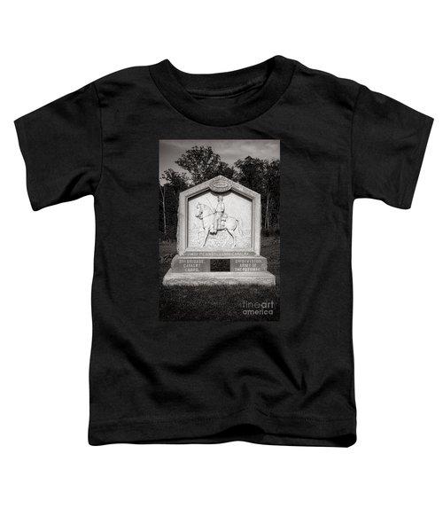 Gettysburg National Park 4th Pennsylvania Cavalry Monument Toddler T-Shirt