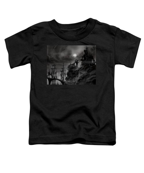 Ghost Castle Toddler T-Shirt