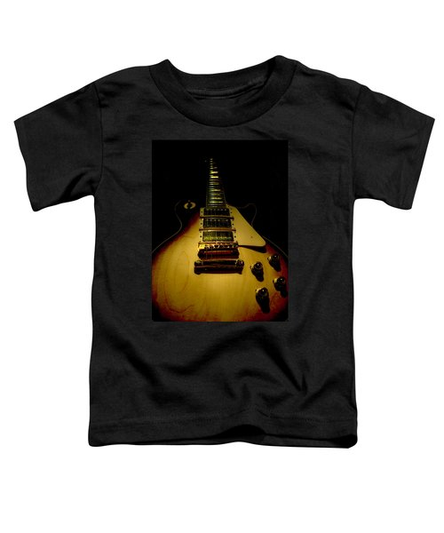 Guitar Triple Pickups Spotlight Series Toddler T-Shirt