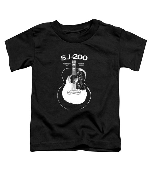 Gibson Sj-200 1948 Toddler T-Shirt