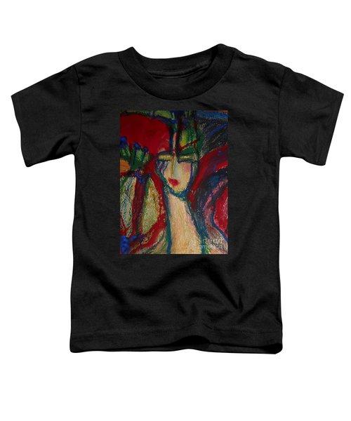 Girl In Darkness Toddler T-Shirt