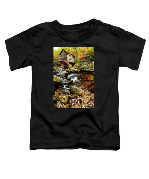 Glade Creek Grist Mill Fall  Toddler T-Shirt