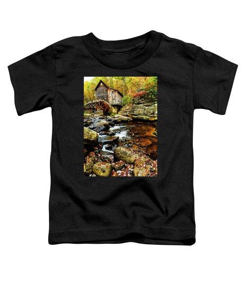 Glade Creek Grist Mill Fall  Toddler T-Shirt