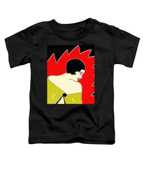 Glancing Down Toddler T-Shirt