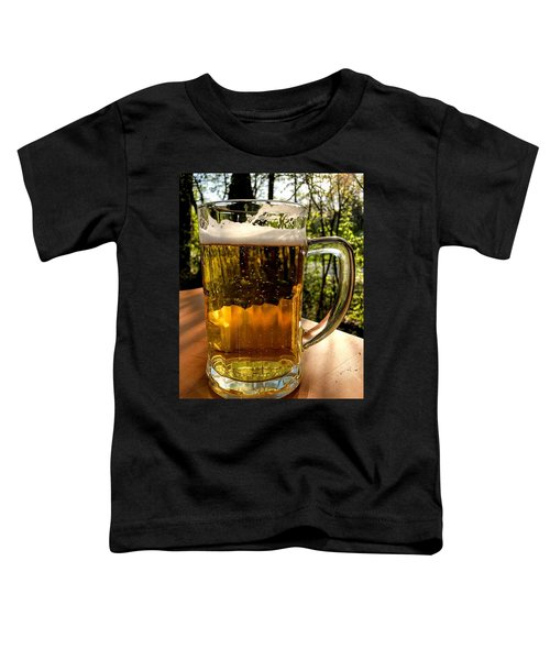 Glass Of Beer Toddler T-Shirt