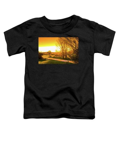 Glowing Sunset Toddler T-Shirt