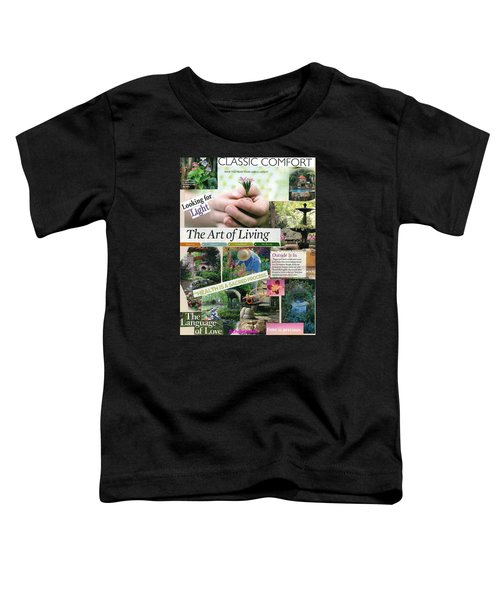 God's Garden Of Love Toddler T-Shirt