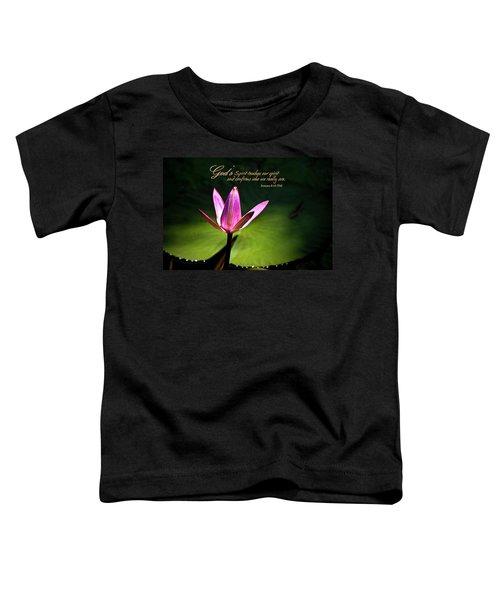 God's Spirit Toddler T-Shirt