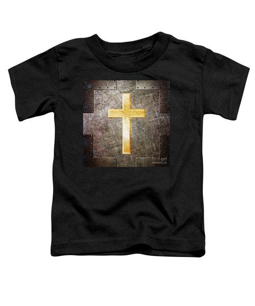 Gold And Silver Toddler T-Shirt
