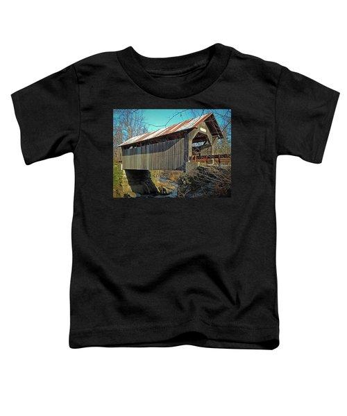 Gold Brook Bridge Toddler T-Shirt