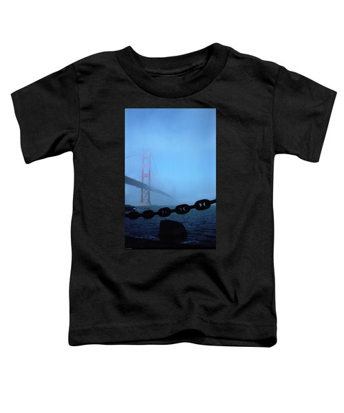 Golden Gate Bridge From Fort Point Toddler T-Shirt