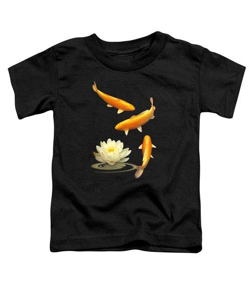 Golden Harmony Vertical Toddler T-Shirt