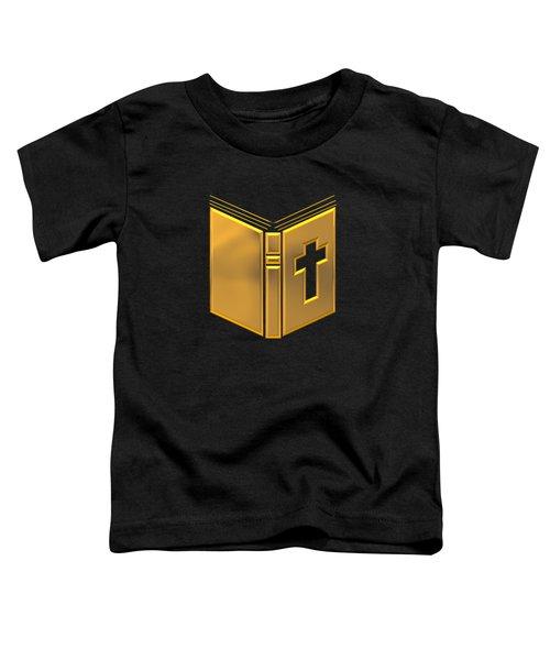 Golden Holy Bible Toddler T-Shirt