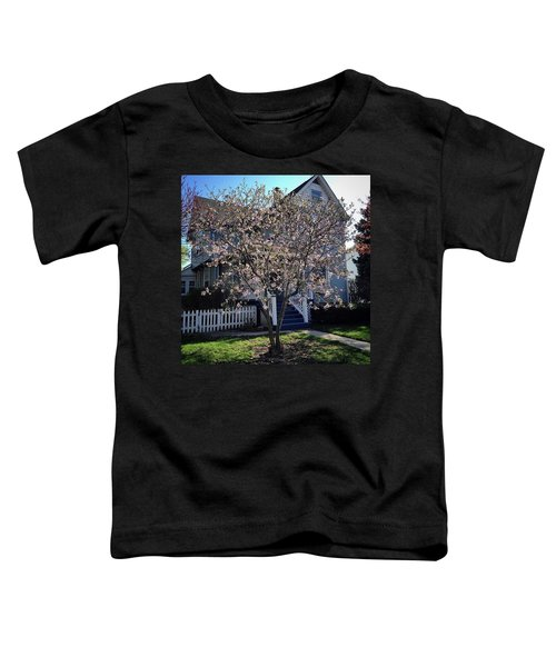 Golden Hour Magnolia   Toddler T-Shirt