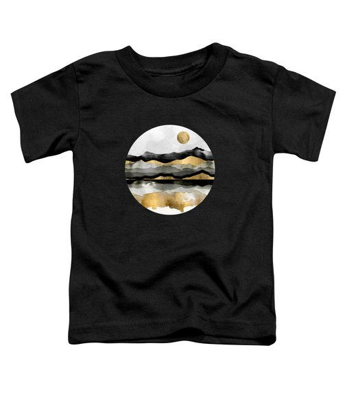 Golden Spring Moon Toddler T-Shirt