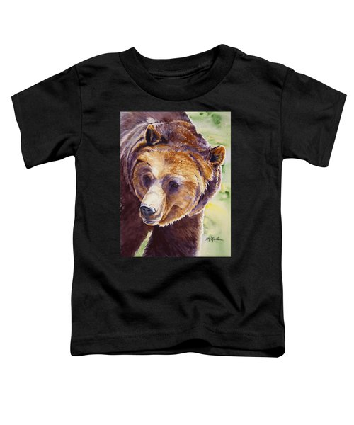 Good Day Sunshine - Grizzly Bear Toddler T-Shirt