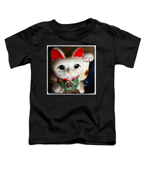 Toddler T-Shirt featuring the photograph Good Meowning. #myfab5 by Mr Photojimsf